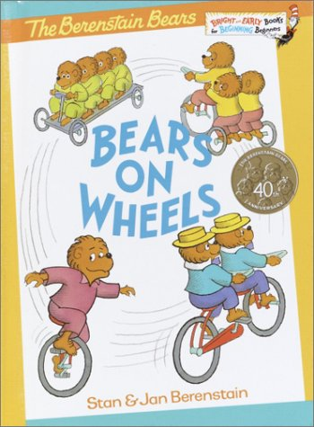9780394909677: Bears on Wheels (Bright & Early Books)