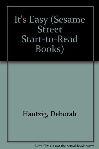 9780394913766: IT'S EASY-SS START-RD (Sesame Street Start-To-Read Books)