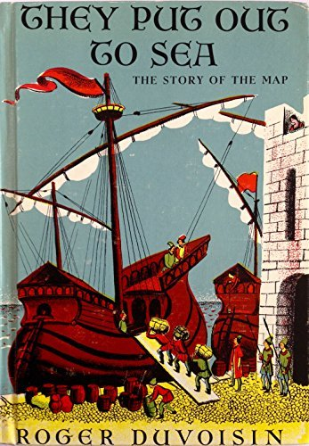 9780394917405: They Put Out to Sea: The Story of the Map