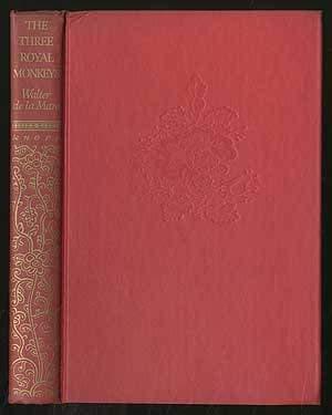 Three Royal Monkeys (9780394917443) by Walter De La Mare