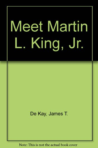 9780394919621: Meet Martin L. King, Jr.