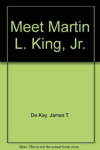 9780394919621: MEET MARTIN L.KING,JR.