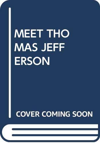 9780394919645: Meet Thomas Jefferson