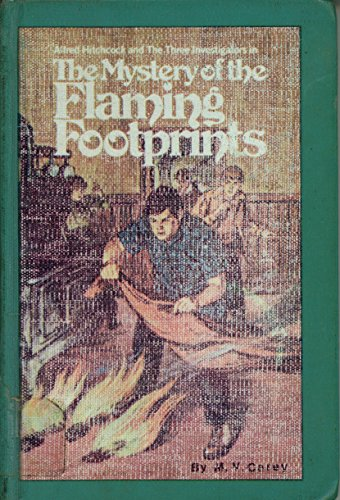 9780394922966: Alfred Hitchcock and the Three Investigators in the Mystery of the Flaming Footprints  (Alfred Hitchcock Mystery)