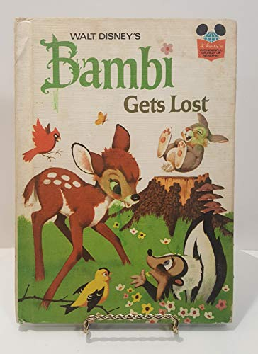 Walt Disney's Bambi Gets Lost. (Disney's Wonderful World of Reading) (0394925203) by Albert G. Miller