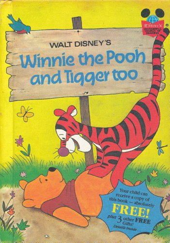 9780394925691: Walt Disney's Winnie-the-Pooh and Tigger Too (Disney's Wonderful World of Reading)