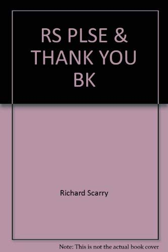 9780394926810: RS PLSE & THANK YOU BK (Random House Picturebacks)