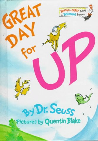 9780394929132: Great Day for Up! (Bright & Early Books(R))