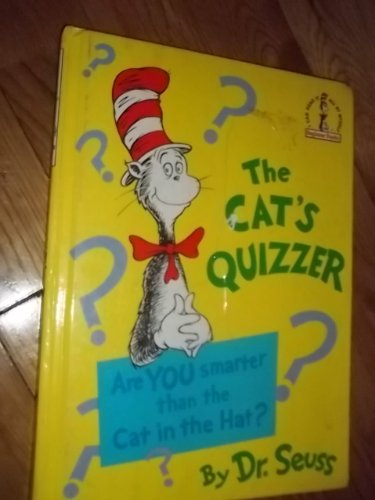 9780394932965: THE CAT'S QUIZZER