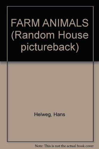 9780394937335: FARM ANIMALS (Random House pictureback)