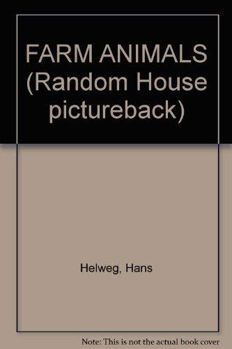 9780394937335: FARM ANIMALS (Random House pictureback)