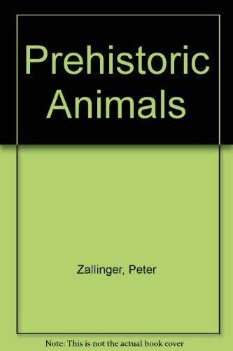 9780394937373: Prehistoric Animals