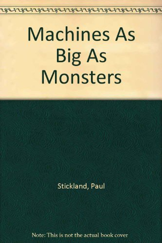 9780394939131: Machines As Big As Monsters