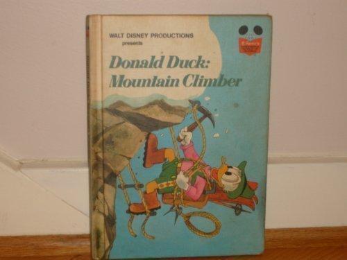 9780394940786: Walt Disney Productions presents Donald Duck, mountain climber (Disney's wonderful world of reading)