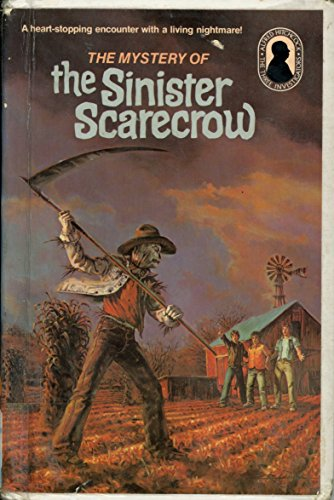 9780394941820: The Mystery of the Sinister Scarecrow (Alfred Hitchcock Mystery Series)