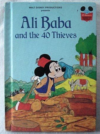 Walt Disney Productions Presents ALI BABA AND: Walt Disney. Grolier
