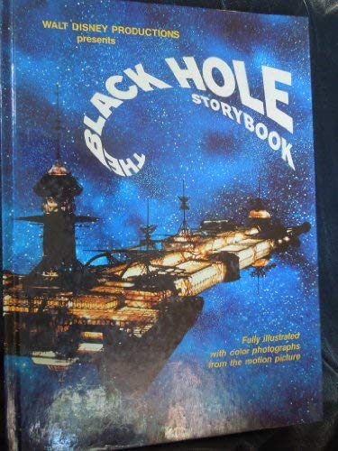 9780394942780: Walt Disney Productions presents The black hole storybook