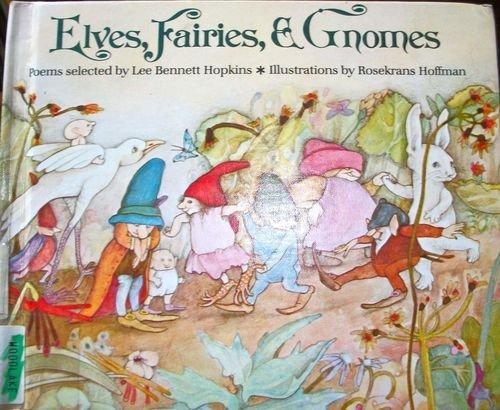 9780394943510: Elves, Fairies & Gnomes