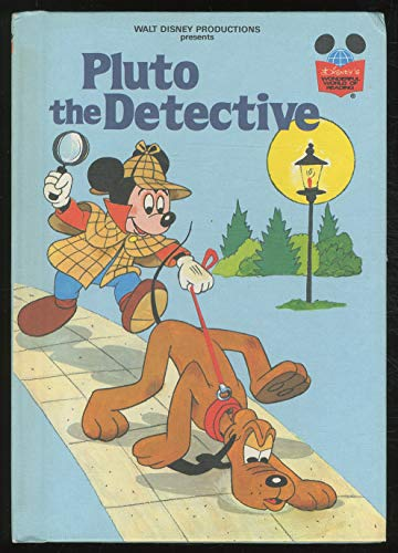 9780394943961: Walt Disney Productions presents Pluto the detective (Disney's wonderful world of reading)