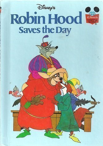 9780394944548: Walt Disney Productions Presents Robin Hood Saves the Day (Disney's Wonderful World of Reading)