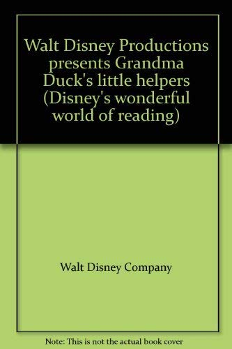 9780394947990: Walt Disney Productions presents Grandma Duck's little helpers (Disney's wonderful world of reading)