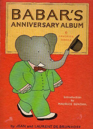 9780394948133: Babar's 50th Birthday Book