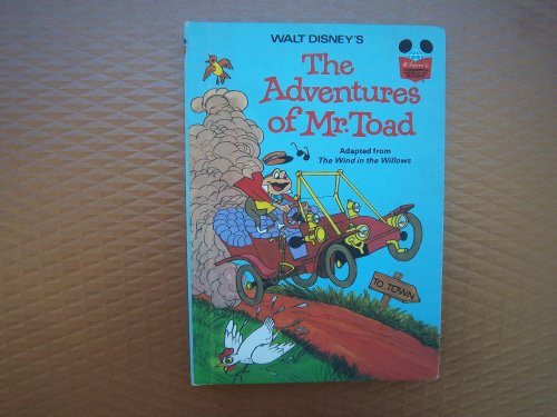 9780394948188: Walt Disney's The Adventures of Mr. Toad (Disney's Wonderful World of Reading)