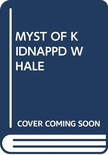 9780394958415: The Three Investigators in the Mystery of the Kidnapped Whale