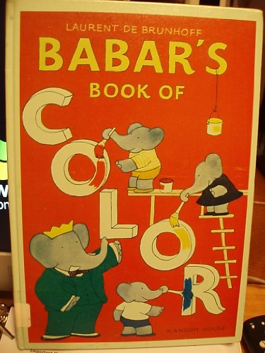 9780394968964: Babar's Book of Color