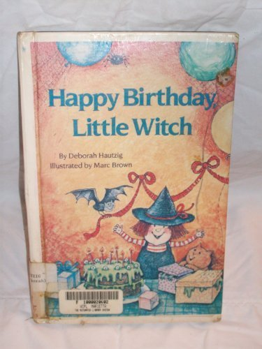 9780394973654: Happy Birthday, Little Witch (Step Into Reading Books)