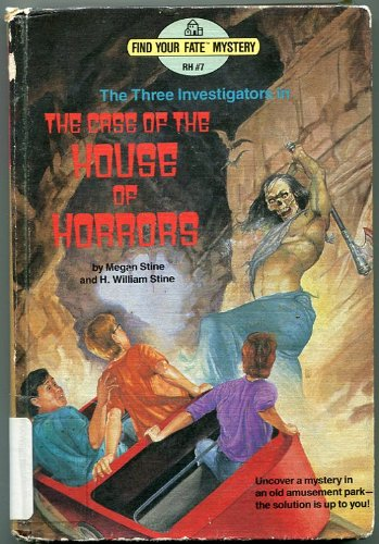 9780394982267: The Case of the House of Horrors (Three Investigators) (Find Your Fate Mystery RH #7)