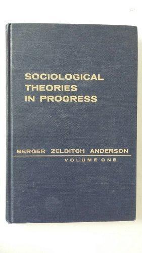 9780395041789: Sociological Theories in Progress
