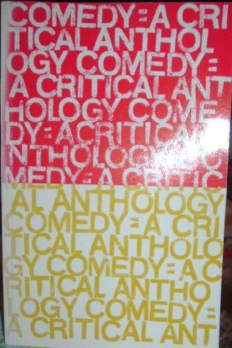 9780395043257: Comedy: A Critical Anthology