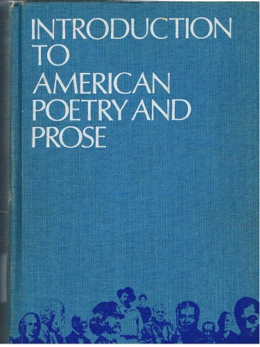 9780395044575: Introduction to American Poetry Prose