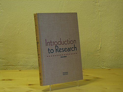 9780395046289: Introduction to Research.
