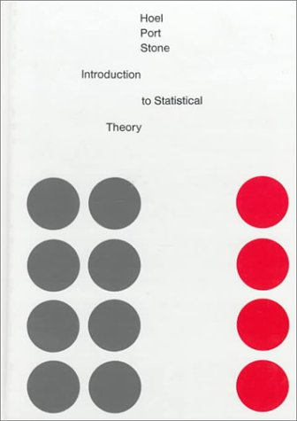 9780395046371: Introduction to Statistical Theory (Houghton-Mifflin Series in Statistics)
