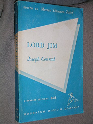 Lord Jim (Riverside editions): Joseph Conrad; Morton