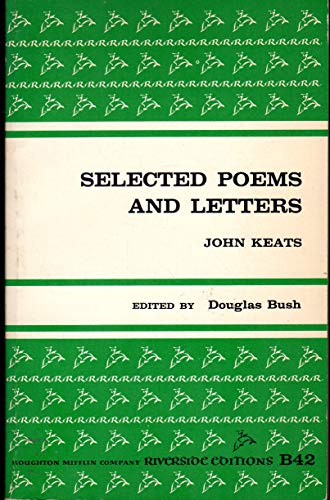 9780395051405: Selected Poems and Letters (Riverside Editions S.)