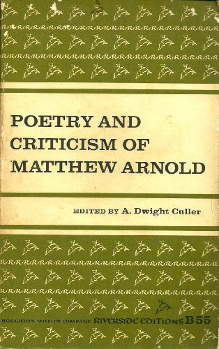 9780395051528: Poetry and Criticism (Riverside editions)