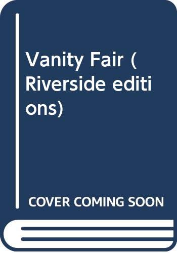 9780395051610: Vanity Fair (Riverside editions)