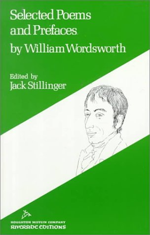 William Wordsworth: Selected Poems and Prefaces