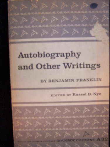 9780395052419: Autobiography and Other Writings.