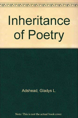Inheritance of Poetry (0395065372) by Adshead, Gladys L.; Duff, Annie