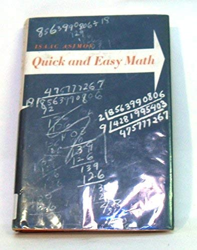 Quick and Easy Mathematics (0395065739) by Isaac Asimov
