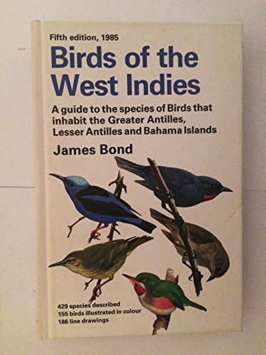 9780395074312: Birds of the West Indies