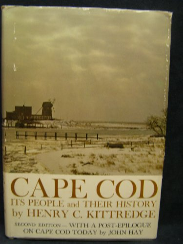 9780395078648: Cape Cod: Its People and Their History,