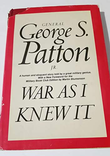 9780395080740: War as I Knew it