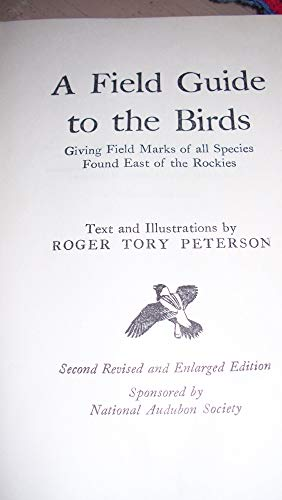 Field Guide to the Birds of Texas and Adjacent State