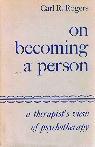 9780395081341: On Becoming a Person: A Therapist's View of Psychotherapy
