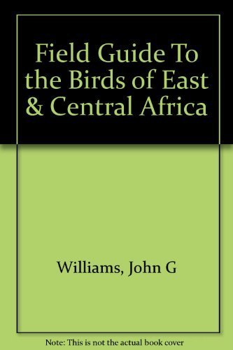 9780395083239: Field Guide to the Birds of East and Central Africa